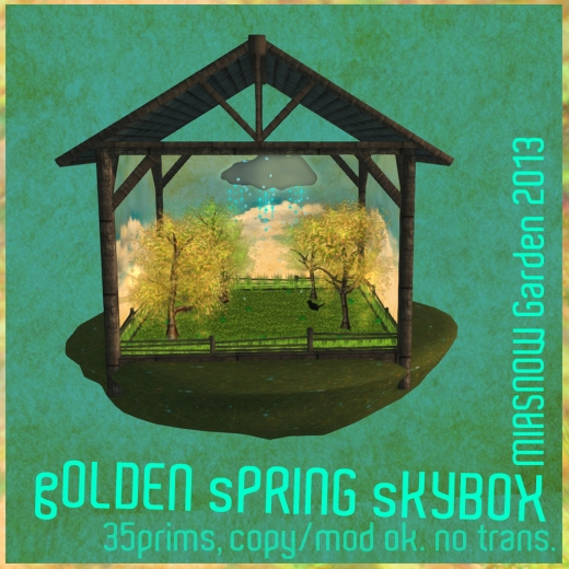 gOLDEN sPRING sKYBOX pic 1